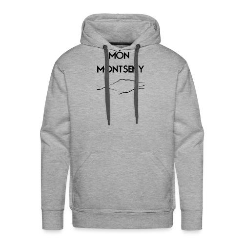 logo monmontseny - Sudadera con capucha premium para hombre