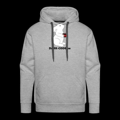 whiterabbit - Sweat-shirt à capuche Premium pour hommes