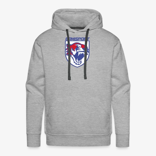 Logo blason - Sweat-shirt à capuche Premium pour hommes