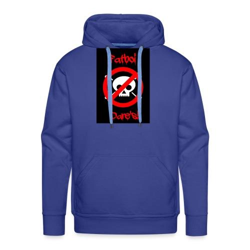 Fatboi Dares's logo - Men's Premium Hoodie