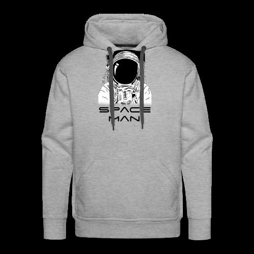 Space man black - Men's Premium Hoodie