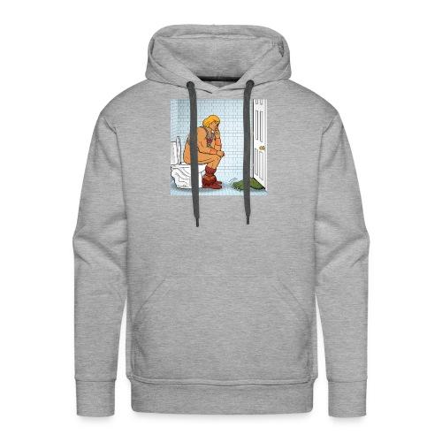 He-Man Wc - Sweat-shirt à capuche Premium pour hommes