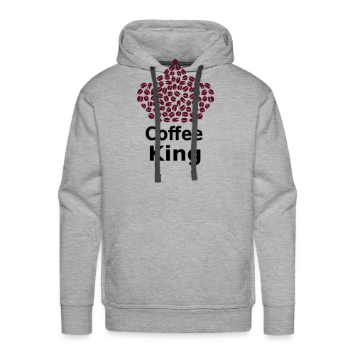 Coffee King T-shirt - Love Coffee T-shirt - Men's Premium Hoodie