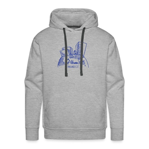Freundelogo blau - Männer Premium Hoodie