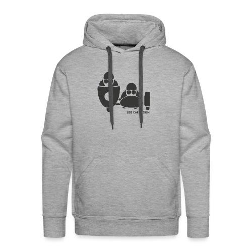 BASSET LOGO - Sweat-shirt à capuche Premium pour hommes