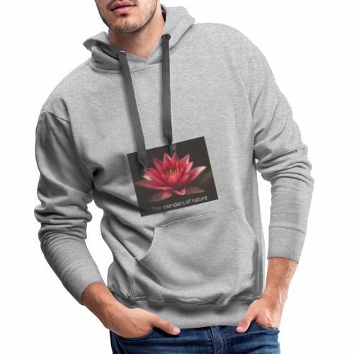 Lotus ny - Premium hettegenser for menn