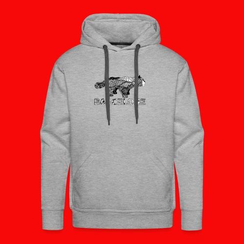 LOGO CAT RAVAL - Sweat-shirt à capuche Premium pour hommes