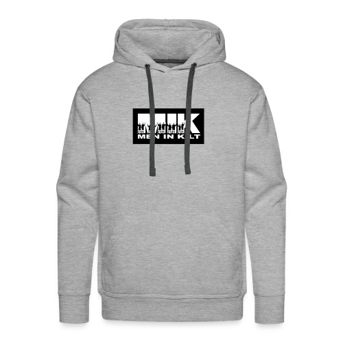Men in Kilt vecto - Sweat-shirt à capuche Premium pour hommes