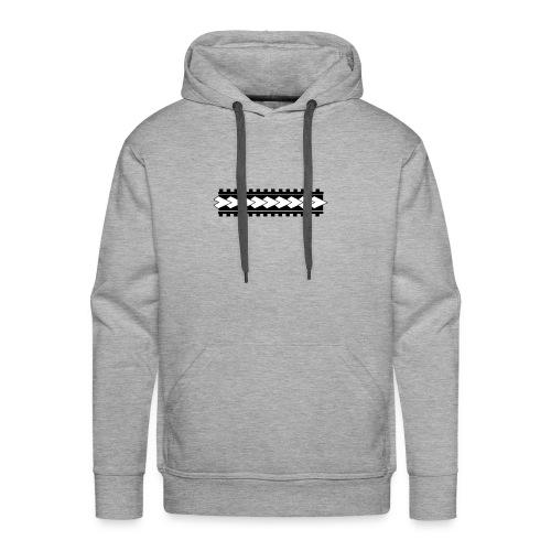 Linea corporal - Sudadera con capucha premium para hombre