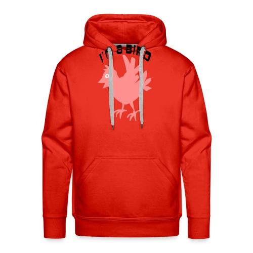 ik ben een vogel - Mannen Premium hoodie