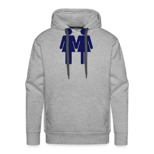 two_women_orig - Männer Premium Hoodie