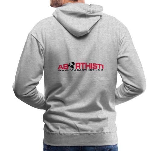 abarthlogored - Premium hettegenser for menn