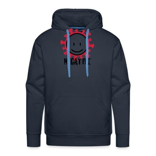 negative corona - Mannen Premium hoodie