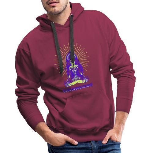 Yogafashion Hippie Ganesha dein Glücksgott - Männer Premium Hoodie
