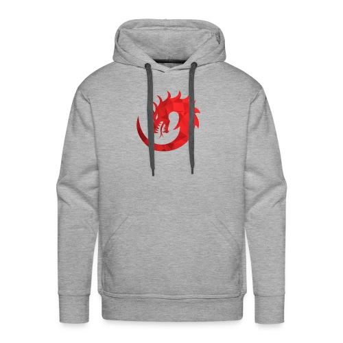 Dragon Rouge - Sweat-shirt à capuche Premium pour hommes