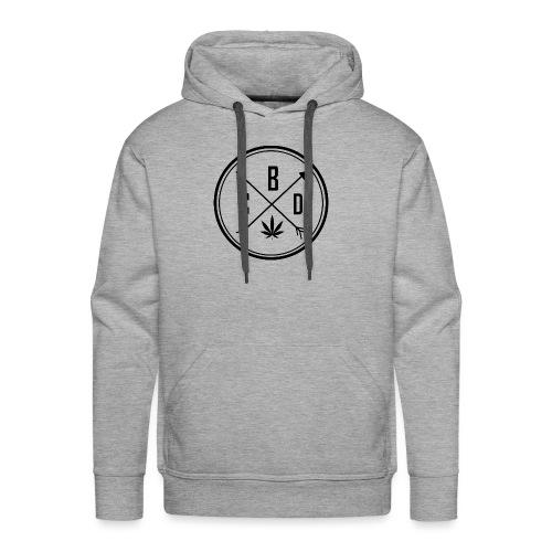 LOGO CBD 2 - Sweat-shirt à capuche Premium pour hommes