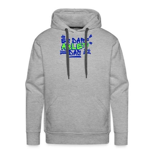 AbleTV Grafitti Logo Marken Shirt (Er Darf Das) - Männer Premium Hoodie