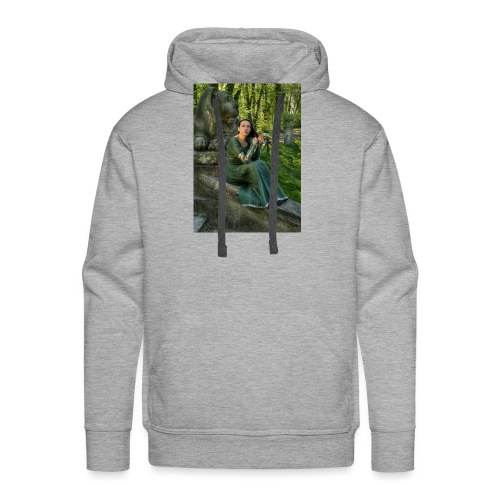 Stone Guardian - Bluza męska Premium z kapturem
