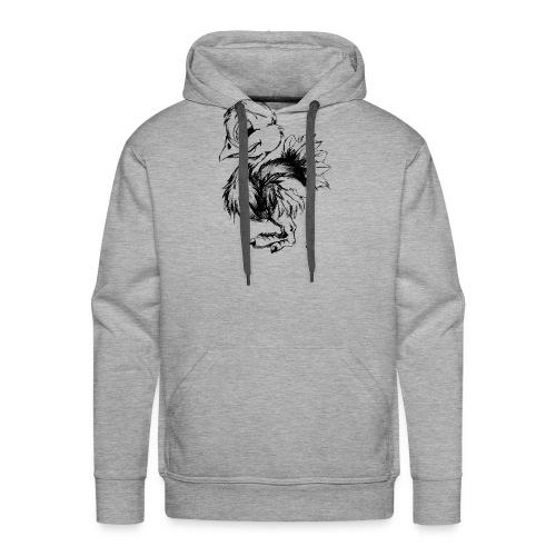 Autruchon - Sweat-shirt à capuche Premium pour hommes