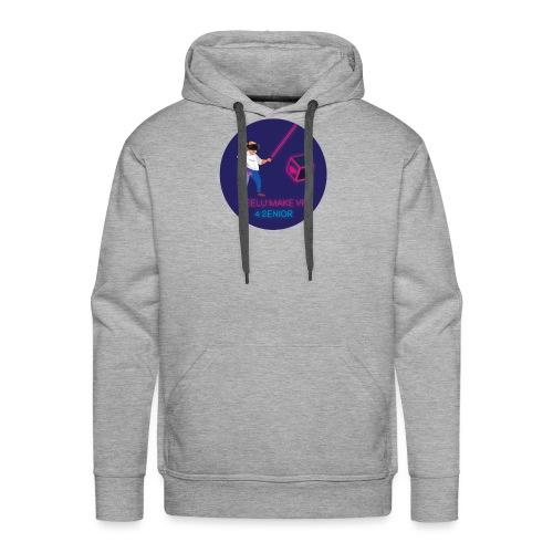 Feelu make vr 4 senior - Sweat-shirt à capuche Premium pour hommes