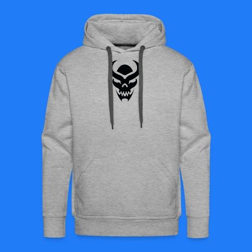 TRIBAL SKULL NOIR - Sweat-shirt à capuche Premium pour hommes