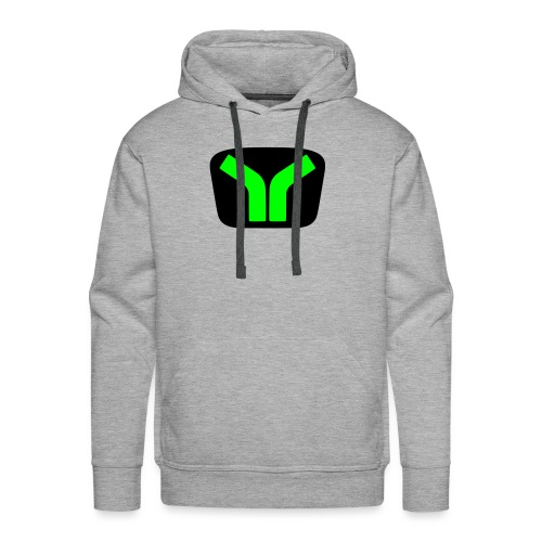 Yugo logo colored design - Men's Premium Hoodie