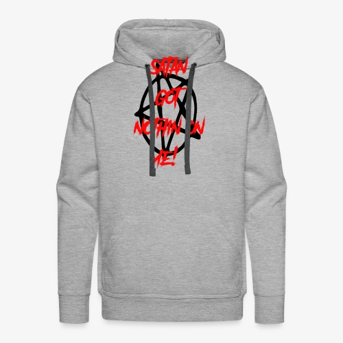 satan got nothin on me! - Men's Premium Hoodie