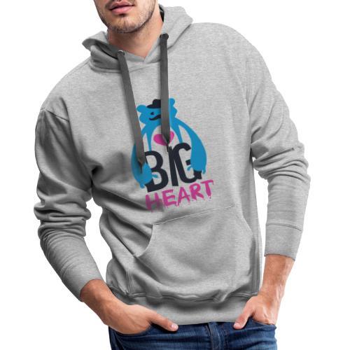 Big Heart Monster Hugs - Men's Premium Hoodie