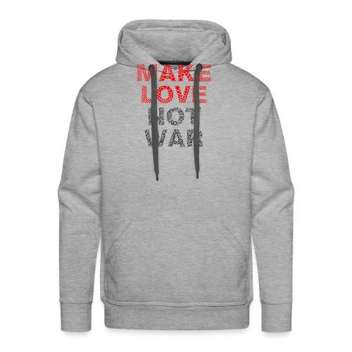 Liebe-Krieg - Männer Premium Hoodie