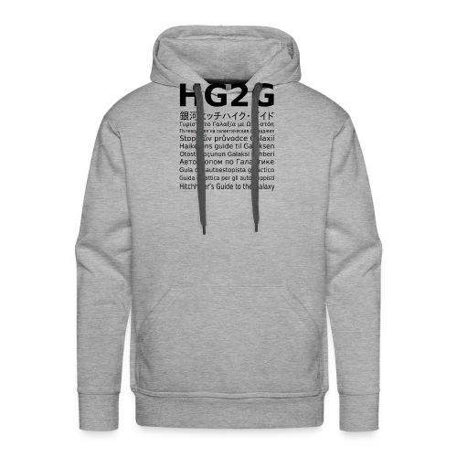 HG2G - Männer Premium Hoodie