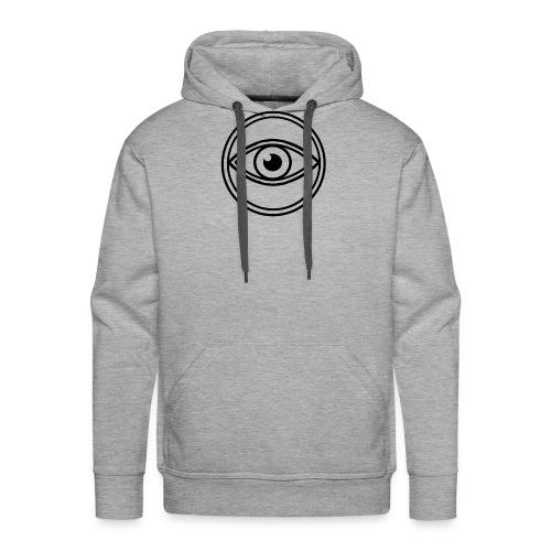 le voyant noir - Sweat-shirt à capuche Premium pour hommes