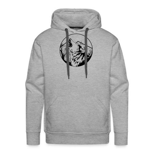 Airsoft Team Greywolves - Mannen Premium hoodie