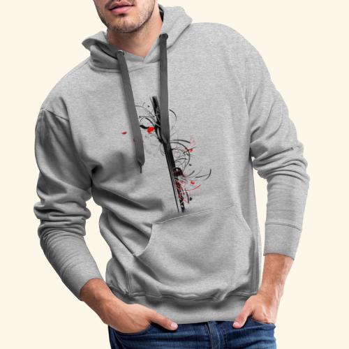 Papillonade - Sweat-shirt à capuche Premium pour hommes