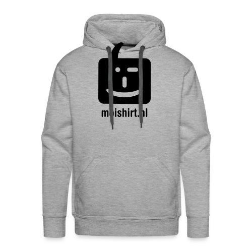 moi shirt back - Mannen Premium hoodie