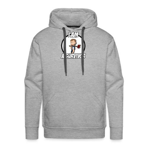 Game Survivant - Sweat-shirt à capuche Premium pour hommes