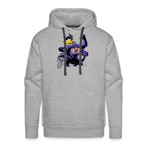 Chica cazadora de monstruos - Sudadera con capucha premium para hombre