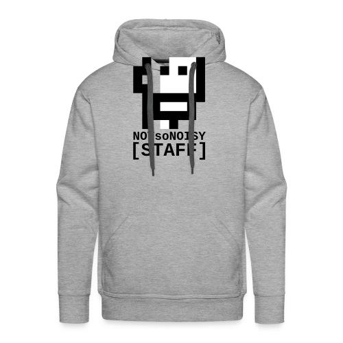 NOTsoNOISY_logo17staff_fo - Sweat-shirt à capuche Premium pour hommes
