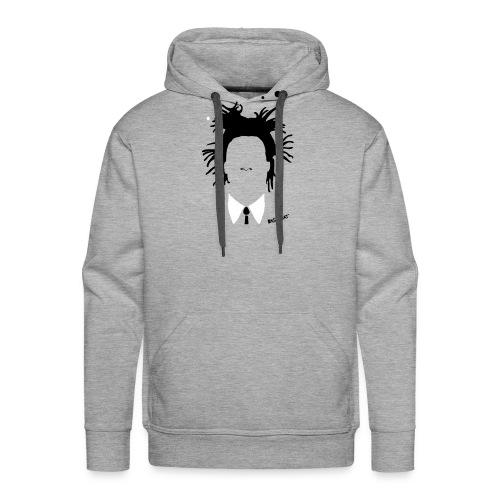 Jean Michel Basquiat - Felpa con cappuccio premium da uomo