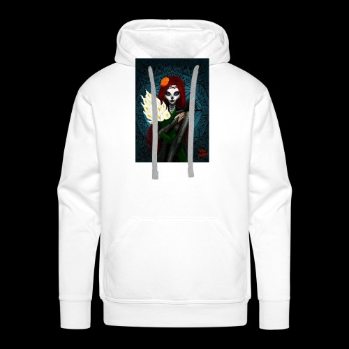 Death and lillies - Men's Premium Hoodie