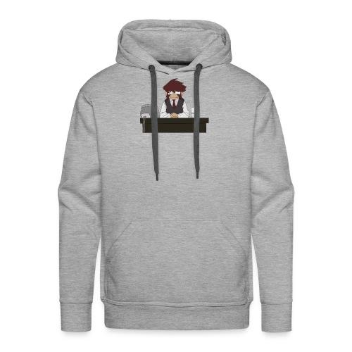 klaus tea times - Sweat-shirt à capuche Premium pour hommes