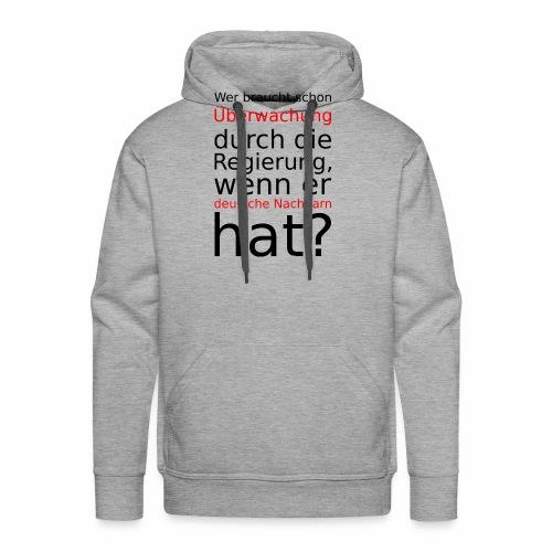 Deutsche Nachbarn - Men's Premium Hoodie