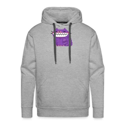 Pixel Grin - Männer Premium Hoodie