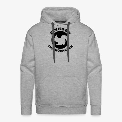 Einhorn Eichhörnchen - Männer Premium Hoodie