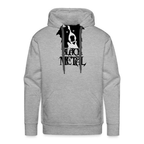bordermetal - Sweat-shirt à capuche Premium pour hommes