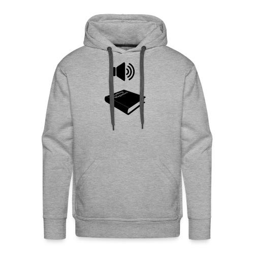 lydbog_4 - Herre Premium hættetrøje