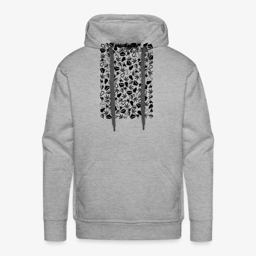 Clichés ardechois - Sweat-shirt à capuche Premium pour hommes