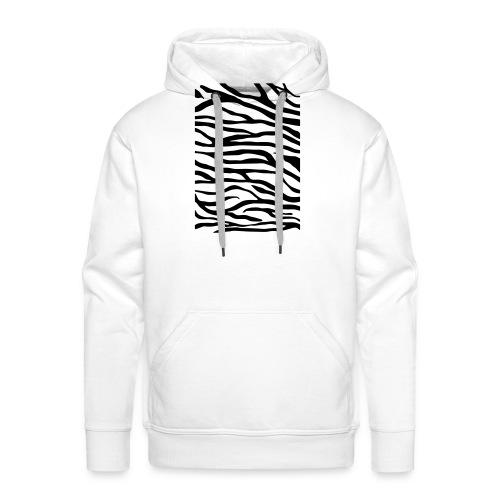 zebra v6 - Mannen Premium hoodie