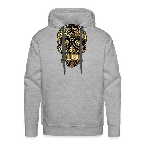 sugar skull 4452682 - Felpa con cappuccio premium da uomo