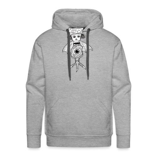 SkullBatEye - Sweat-shirt à capuche Premium pour hommes