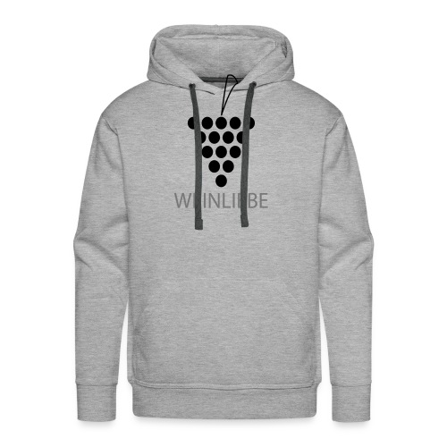 Weinliebe - Männer Premium Hoodie